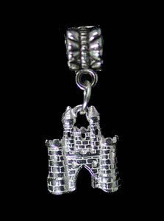 medieval sterling silver 925 european bead charm Real Sterling silver 925 pendant Charm jewelry