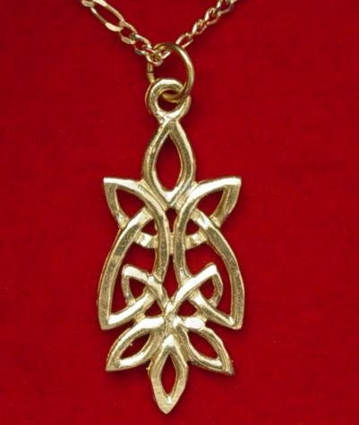 BELL WITH PENTAGRAM 3D WICCA CHARM 925 STERLING SILVER