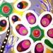 """Girls Room Acrylic Painting- Original Art by Laura Gomez """"El Jardin de la Felicidad"""" / """" The Happiness Garden"""" 24'X54"""""""