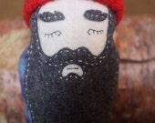 Ira - Matryoshka Lumberjack Plushy