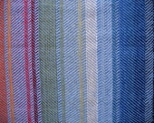 """Linen Table Runner Tablecloth Multicolored Blue Red Green Yellow Orange 37,8"""" x 17,7"""""""