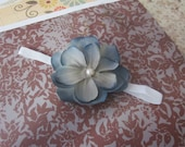 blue magnolia headband