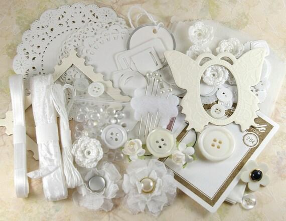 White Embellishment Kit