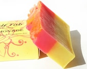Pink Lemonade Essential Oil Blend Shea Butter Vegan Soap