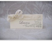Wedding Escort Cards - Set of 8