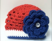 Fourth of July hat / 3 - 6 mohths