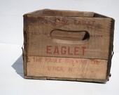 Vintage Wooden Beer Crate