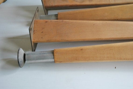sale vintage table legs wooden from the 50 39 s