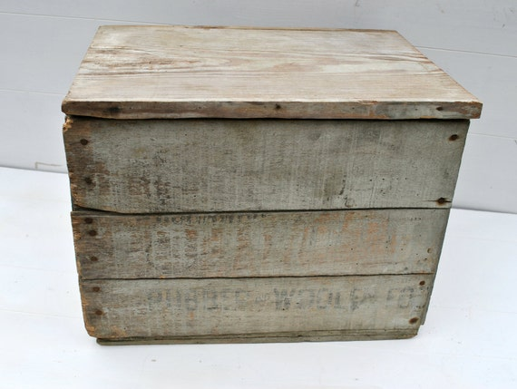 how to make a wooden crate with lid