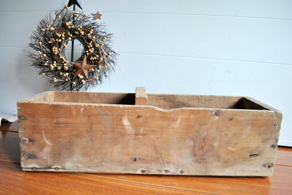 Reserved for harreck Rustic Wood Box