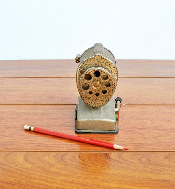 Vintage Boston Pencil Sharpener Vacuum Mount
