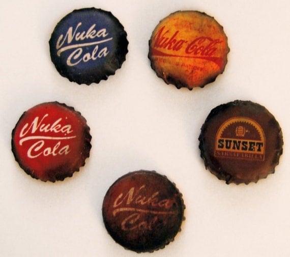 15 - Fallout Bottle Caps (Custom Order for koalaondrugs)