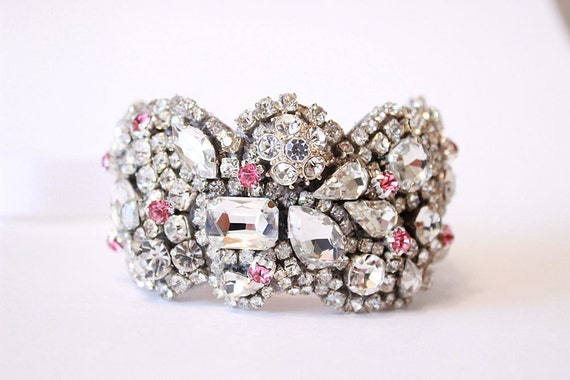 Reserve Old Hollywood Vintage Petite Cuff