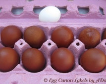 12 Hand Blown EGGS DARK Chocolate-BROWN Marans eggs Holiday Crafts Easter Christmas Pysanki