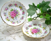 Small English Trinket Dishes