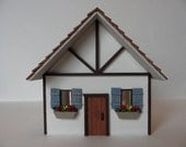 Dollhouse Cottage, 1/4 Scale