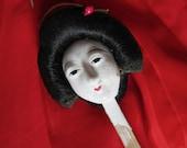 Japanese Geisha Doll Head