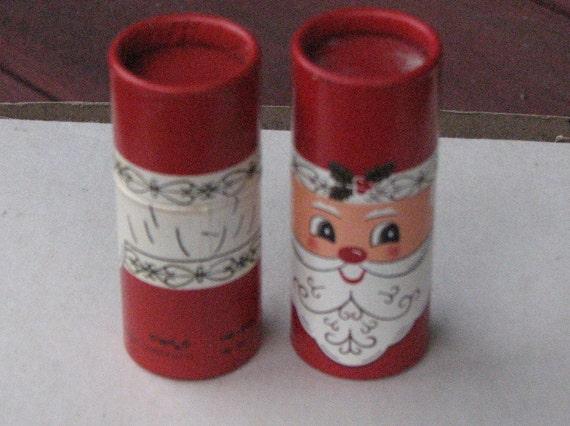 Reserved For SUSAN Vintage Christmas Santa Matchbox Set