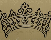 Crown Clip Art, Royalty Free, No Credit Required for designers and crafters designs or products, supply