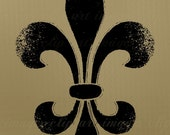 CU Fleur De Lis Clip Art, Royalty Free, No Credit Required, Instant Digital Download