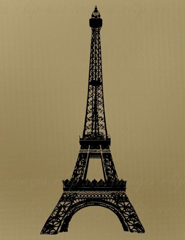 Eiffel Tower Outline Clip-art Eiffel Tower Clip Art