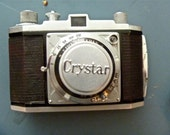 1960's Crystar 35mm Mint Camera with Leather Case