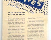 1940 Vintage Leaflet - Kitchen Craft Recipes from the Flour Bin