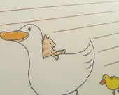 letter-paper / Duckling