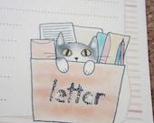 letter-paper / letter-box