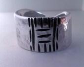 Aluminum ring - Size 10 (code: 0005)