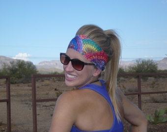 Kaleidoscope Hippie Headband