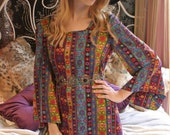 Psychedelic Babydoll Dress