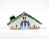 Handmade & painted miniature house No.12