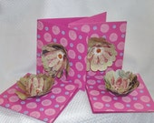 Paper Goods - Note Cards - Handmade Flowers - Thank You, Thinking of You, Blank Note Cards