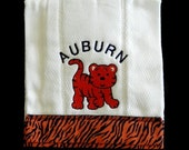 AUBURN TIGERS Burp cloth....get yours today