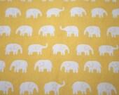 Daiwabo Elephant Yellow Cotton 50 cm (Japanese Fabric)