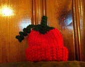 Newborn crochet Christmas hat