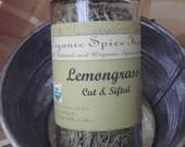Organic Lemongrass spice- dried herb