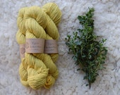 Organic Naturally Dyed Worsted Weight Yarn : Coyote Brush