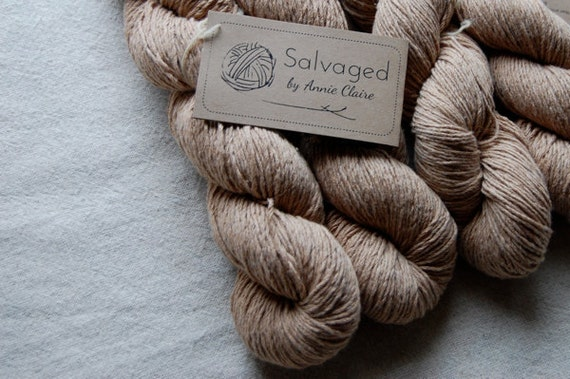 Salvaged - 100% Recycled Cotton : Oatmeal
