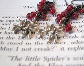 Spider Earrings, Halloween