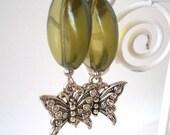 Butterfly Earrings, Spring Fashion