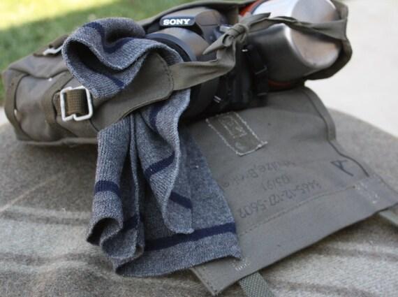 Messenger bag Great Camera Bag, Purse, Diaper bag, Book bag, Lunch bag from German Military