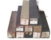 Vintage Player Piano Rolls, Set of 10
