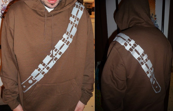 Chewbacca  hoodie M-XL