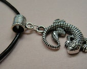 1017Silver-Lizard-Necklace