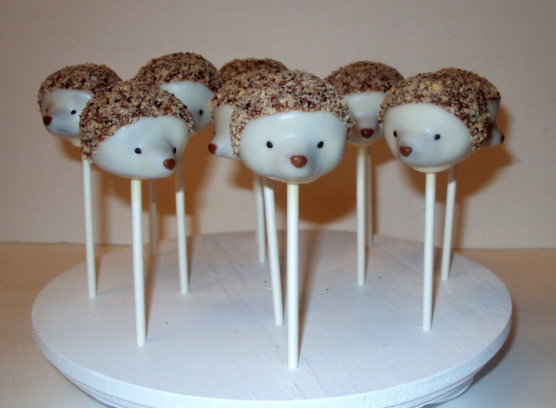 sweet woodland birthday party |Woodland Cake Balls