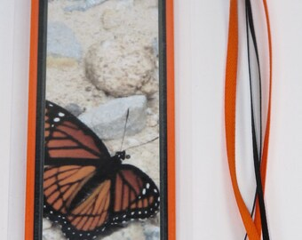 Monarch Butterfly Laminated Bookmark