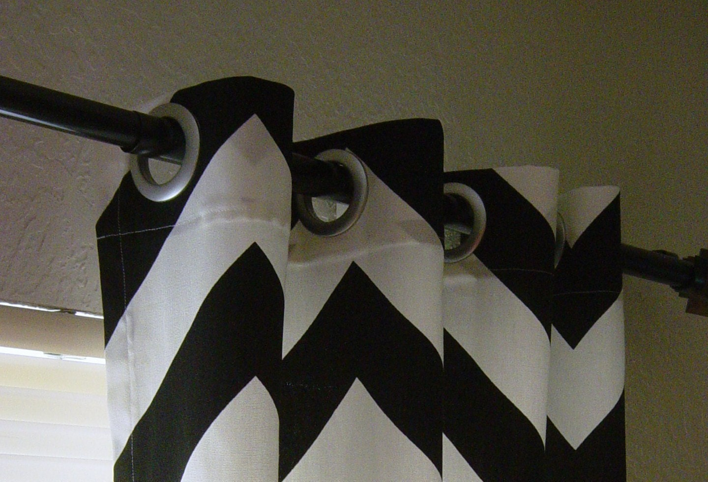 Light Blocking Curtains Target Black and White Chevron Shirt