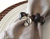 Napkins rings, bead napkins rings, napkins holder